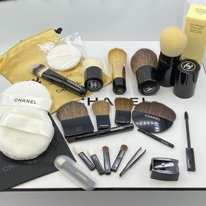 New 24 pcs bundle Chanel makeup brush set